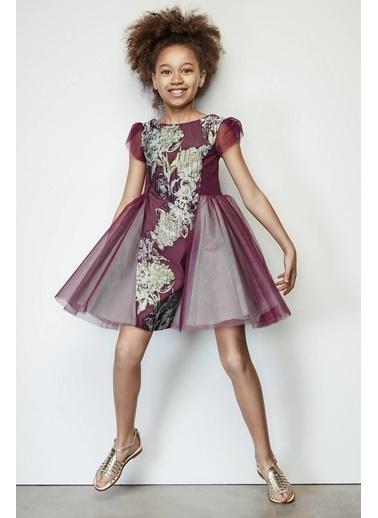 Lia Lea Kız Çocuk Mor Elbise Mor